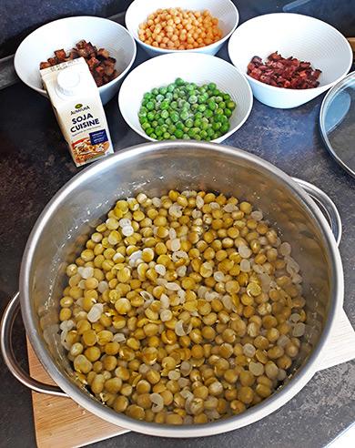 Sójová smetana na vaření Alnatura